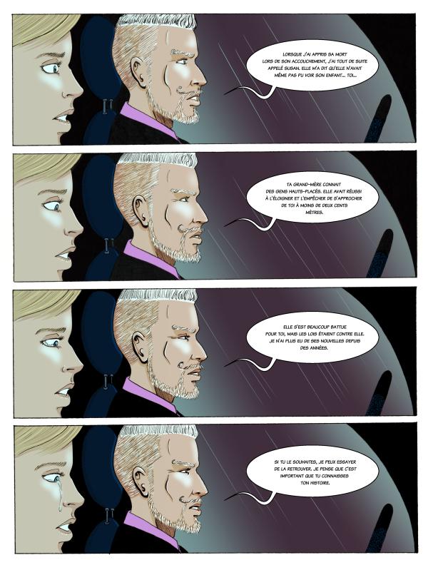 planche numéro 13 de la bande dessinée Mariage d'Héloïse Finoux-Nikolic