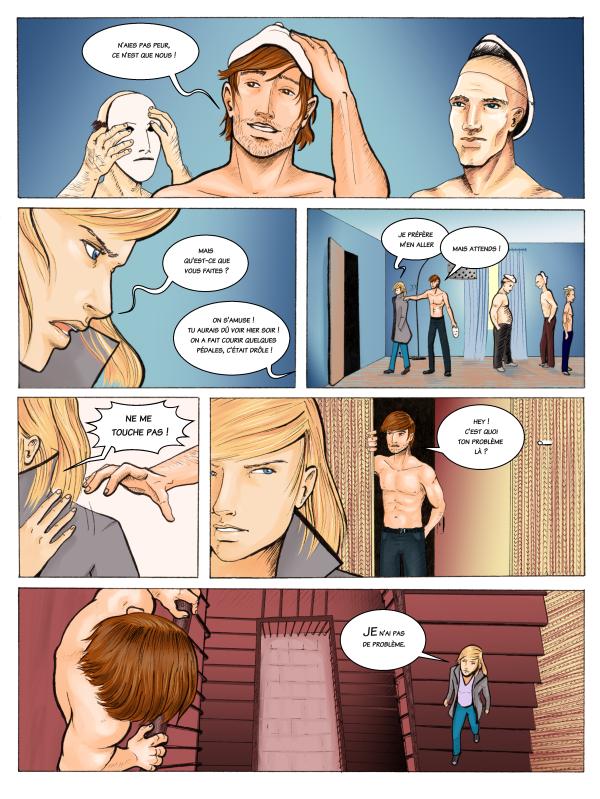 page 17 de la BD Mariage d'Héloïse Finoux-Nikolic