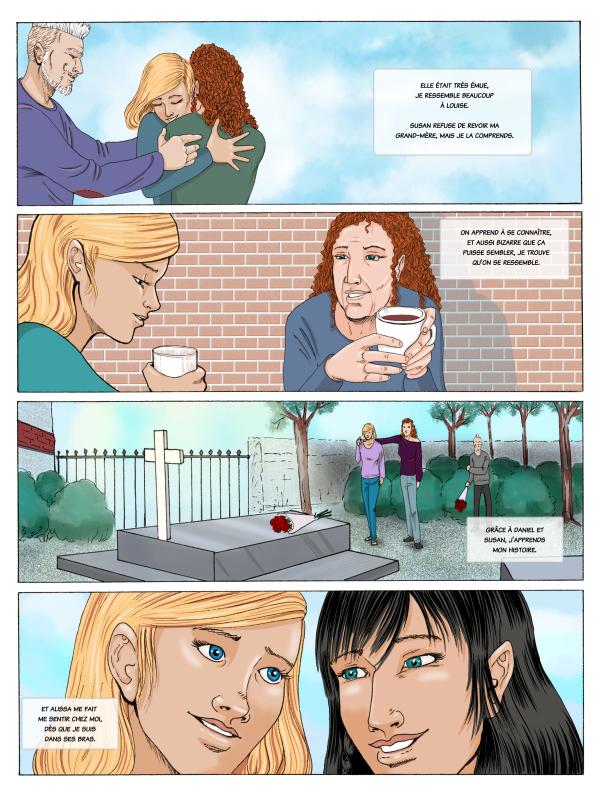 page 54 de la BD Mariage d'Héloïse Finoux-Nikolic